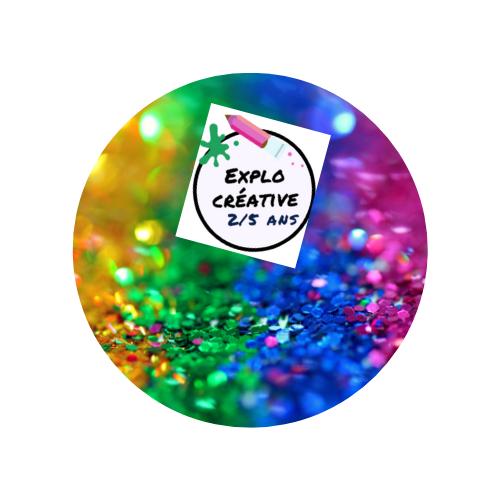 Ateliers explo créative 2-5 ans