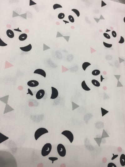 tissu panda reves momes
