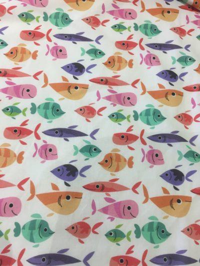 tissu poisson