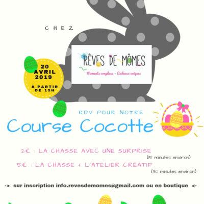 paques course cocotte 2019