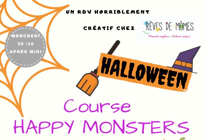 """Course d'halloween  """"Happy Monster """""""