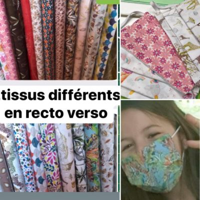 masque textile barriere covid