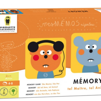 JEU MEMORY EMOTIONS 1 ANIMAUX