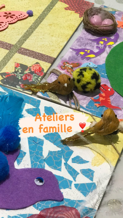 atelier creatif famille family crea craienco reves momes